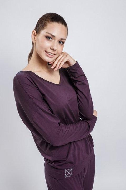 OXO-0744 Комплект джемпер+брюки жен. мод. 8
