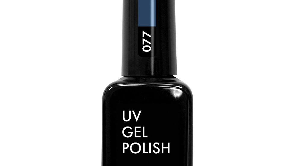 OLYSTYLE гель-лак д/ногтей тон 077 сине-серый