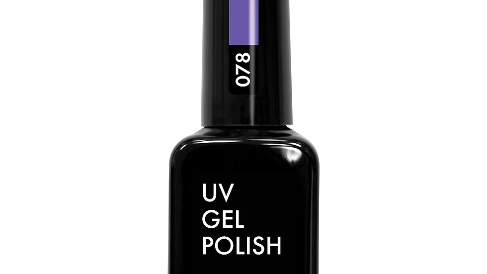 OLYSTYLE Гель-лак д/ногтей тон 078 светло-фиолетовый