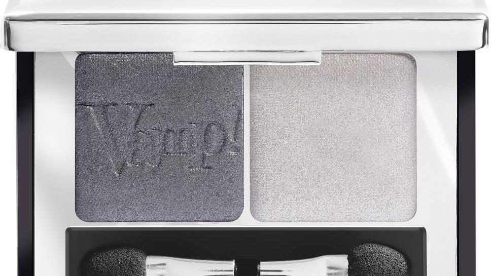 PUPA  Компактные двойные тени VAMP! DUO тон 009 серебряный камень