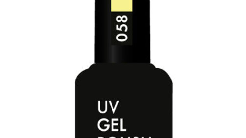 OLYSTYLE Гель-лак д/ногтей тон 058 лимонный