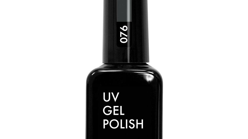 OLYSTYLE гель-лак д/ногтей тон 076 темно-серый