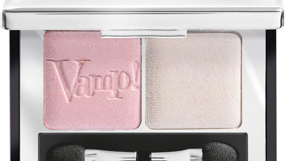 PUPA  Компактные двойные тени VAMP! DUO тон 001 розовый жемчужный