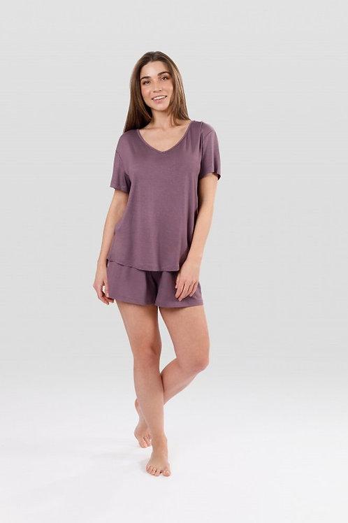 OXO-1359 Комплект футболка/шорты жен. мод. 20