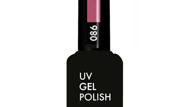 OLYSTYLE Гель-лак д/ногтей тон 086 розово-коралловый
