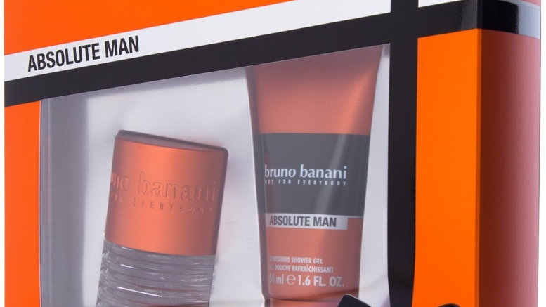 BRUNO BANANI ABSOLUTE MAN набор (30ml edt + 50ml sh/gel