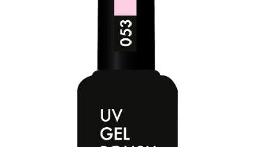 OLYSTYLE Гель-лак д/ногтей тон 053 пастельно-розовый