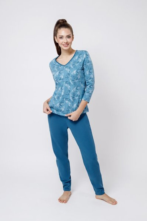 OXO-0854 Комплект лонгслив/брюки жен. мод. 3