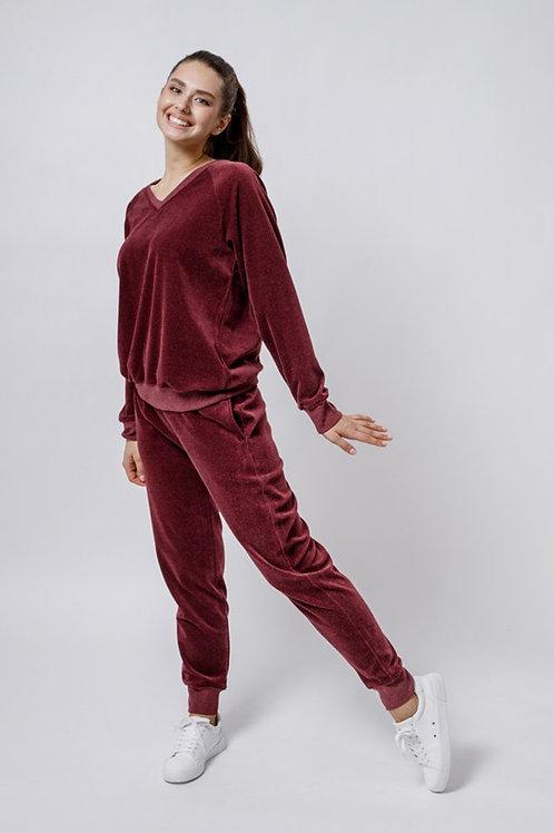 OXO-0866-353 Комплект джемпер+брюки жен. мод. 9