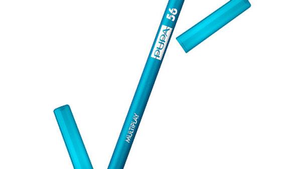 "PUPA  Карандаш д/век с аппликатором ""Multiplay Eye Pencil"""" т.56 синий"