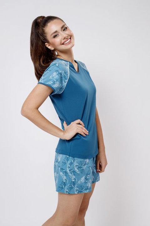 OXO-0818 Комплект футболка/шорты жен. мод. 3