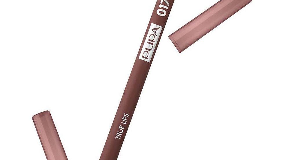 PUPA Карандаш для губ True Lips, 1,2 г, 017 NEW