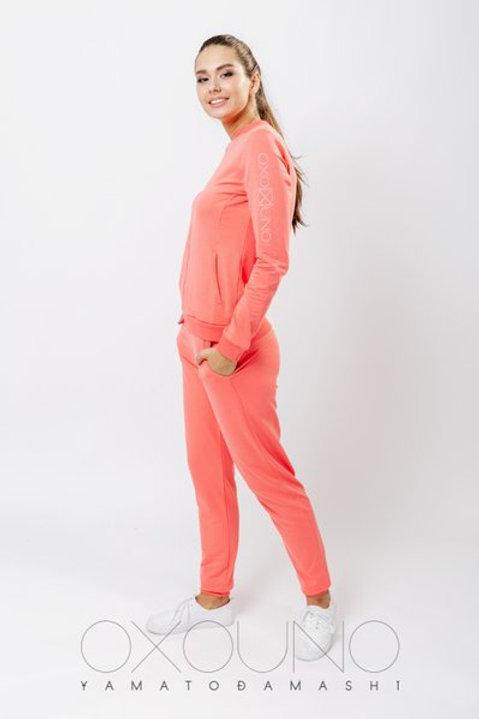 OXO-0710 Комплект толстовка/брюки жен. мод. 1