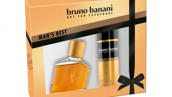 BRUNO BANANI MAN's Best набор (30ml edt + 50ml DEO SPRAY)