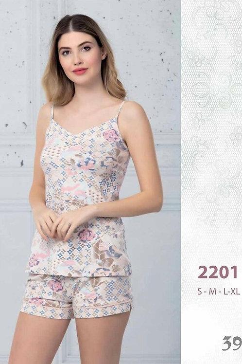 2201 Пижама с шортами