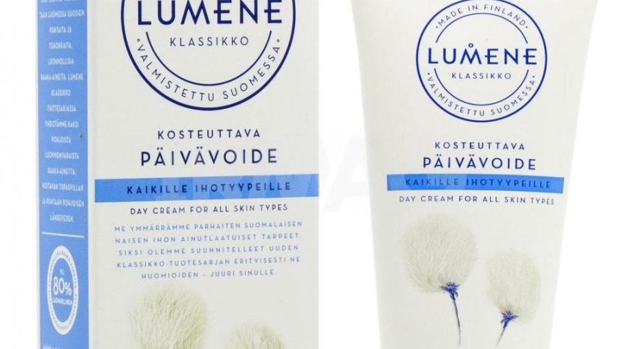 LUMENE KLASSIKKO Увлажняющий дневной крем для всех типов кожи, 50 мл