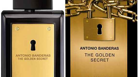 BANDERAS ANTONIO GOLDEN THE SECRET MEN 100ml edt TESTER