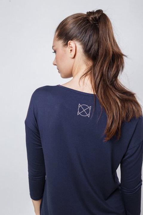 OXO-0740 Комплект лонгслив/брюки жен. мод. 2