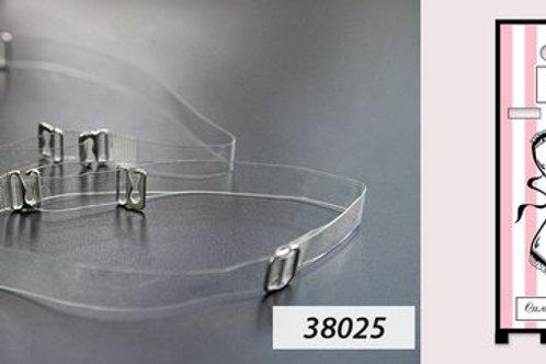 38025 бретель силикон(с металл. крючок)12 мм