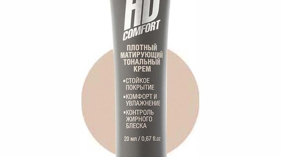 ЕМ Тональный крем HD Comfort ухаживающий, 20 мл, 01 Фарфор 1221
