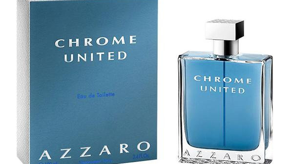 AZZARO CHROME United MEN 100ml edt TESTER
