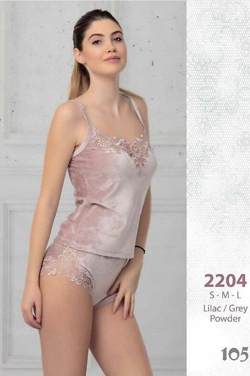 2204 Пижама с шортами