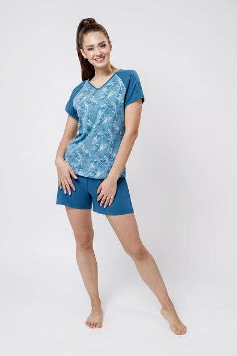 OXO-0848 Комплект футболка/шорты жен. мод. 3