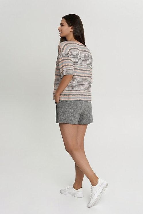 OXO-1546 Комплект футболка/шорты жен. мод. 22