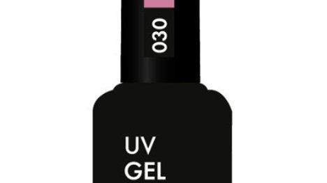OLYSTYLE Гель-лак д/ногтей тон 030 серо-розовый