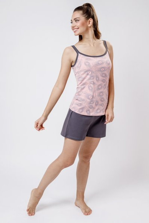 OXO-0856 Комплект топ/шорты жен. мод. 2