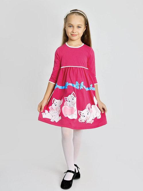 "ПЛ-531/2 Платье ""Котята-2"""