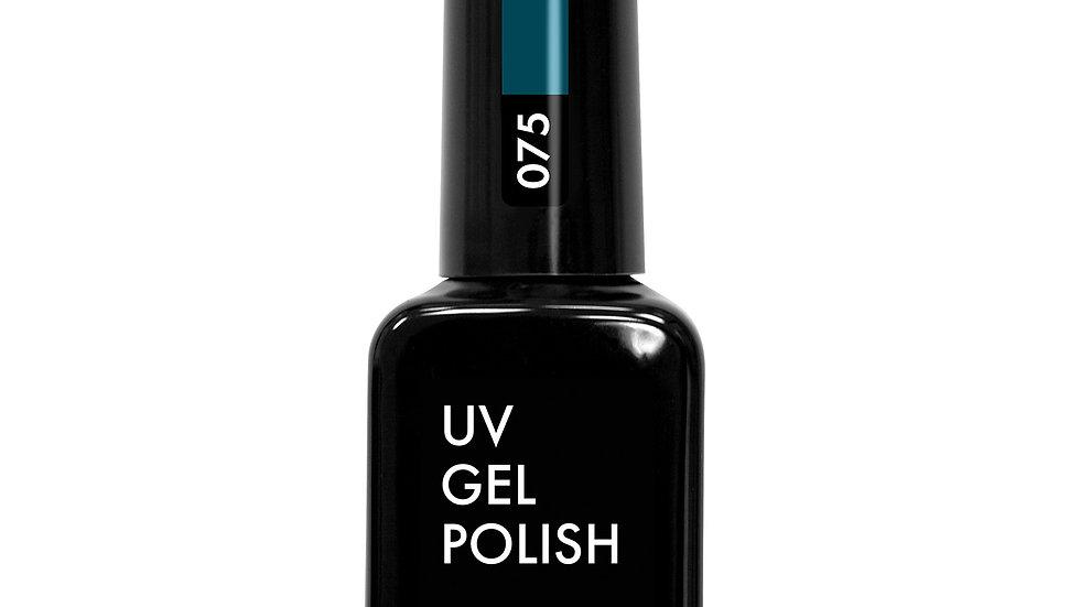 OLYSTYLE гель-лак д/ногтей тон 075 темно-бирюзовый