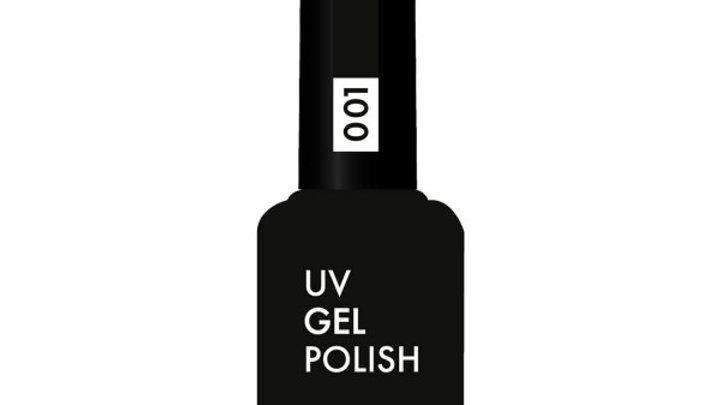 OLYSTYLE Гель-лак д/ногтей тон 001 черный