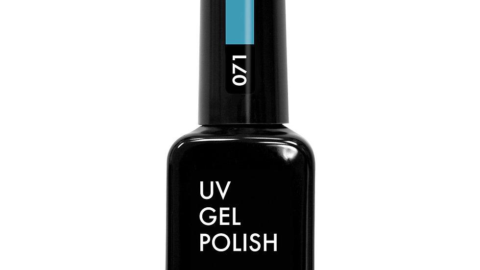 OLYSTYLE гель-лак д/ногтей тон 071 цвет морской волны