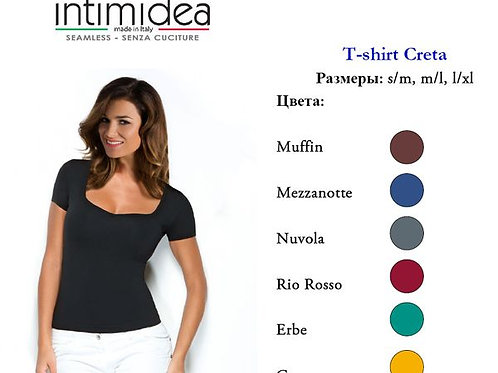 IN-T-Shirt Creta-Футболка корот.рук.,вырез-сердце