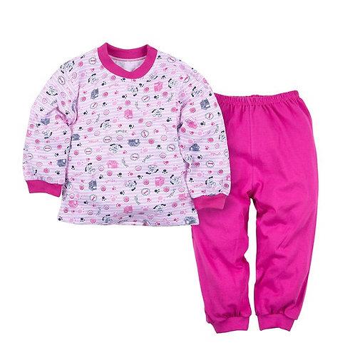 Пижама джемпер и брюки ДД 368А-1141