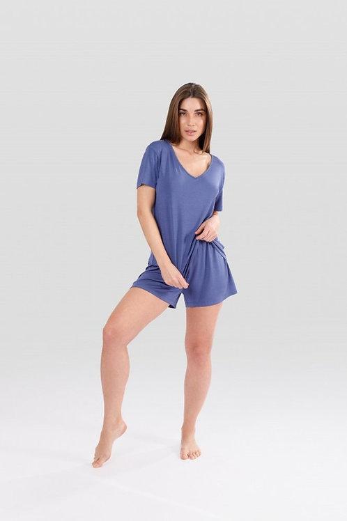 OXO-1357 Комплект футболка/шорты жен. мод. 20
