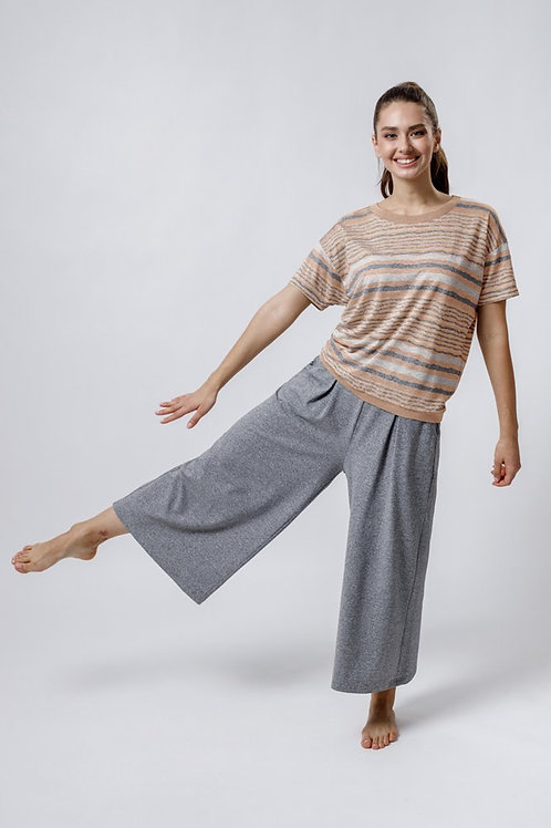OXO-1017 Костюм блуза/кюлоты жен. мод. 1