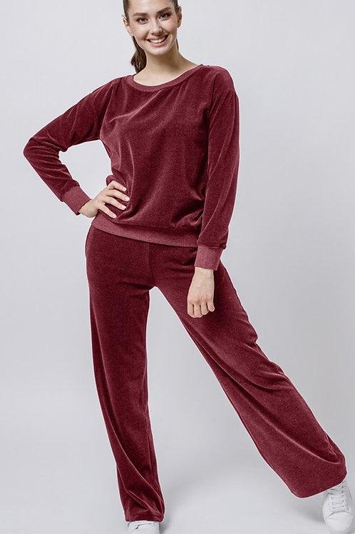 OXO-1114-353 Комплект джемпер+брюки жен. мод. 10