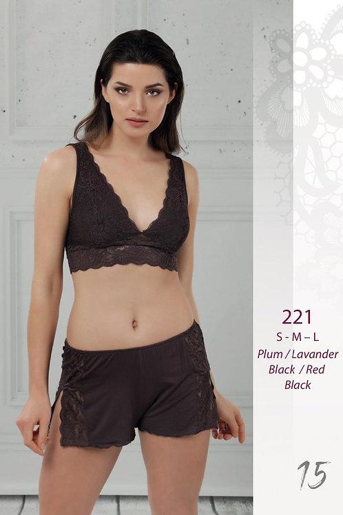 221 Пижама с шортами