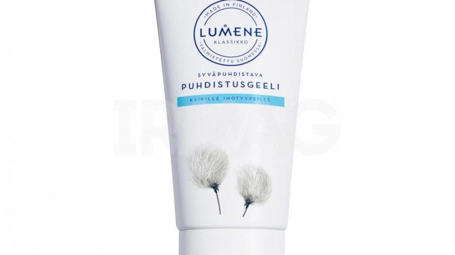 LUMENE KLASSIKKO Глубоко очищающий гель для умывания для всех типов кожи, 150 мл