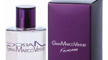 GIAN MARCO VENTURI FEMME 100ml EDP TESTER (ярко-фиолетовая коробка)