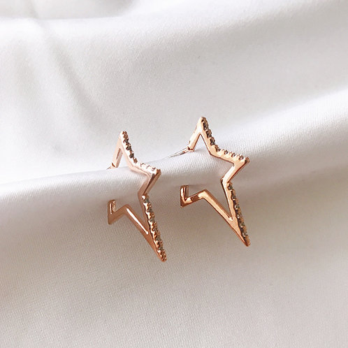 Bling Star Earrings