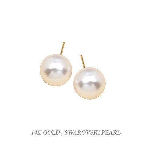 Sky Castle 14KG Pearl Earrings
