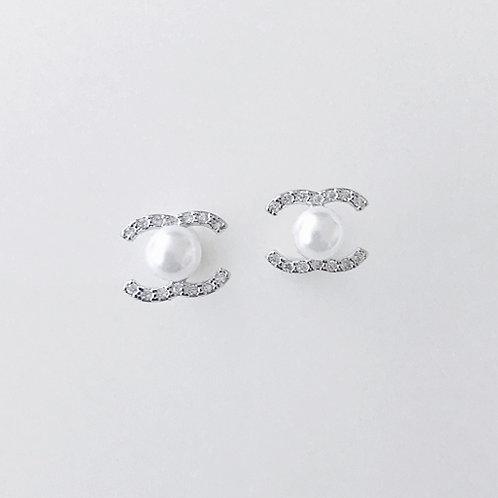 [Silver] Coco Earrings
