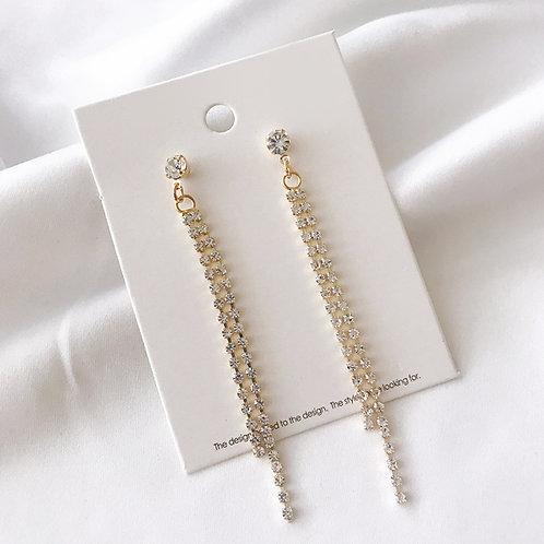 Meria Long Earrings