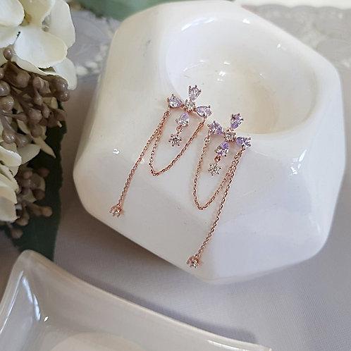 Elin Violet Earrings