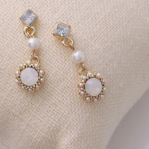 Miley Opal Earrings
