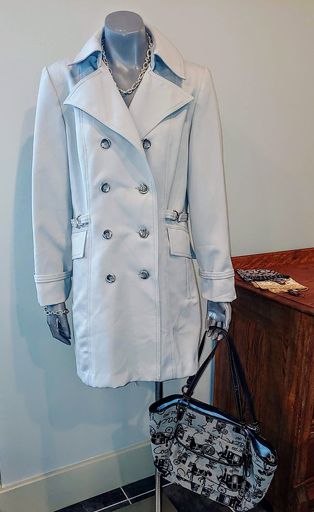 Vintage Women's double breasted lightweight coat
