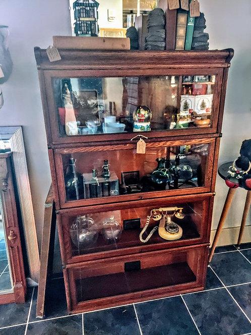 Antique Globe Wernicke Barrister Bookcase